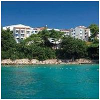 Valamar Koralj Hotel, Krk, Chorvatsko